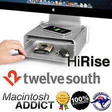 Twelve South HiRise Adjustable Desktop Storage Stand for iMac & Display Monitor
