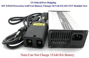 "US 36V 5A EZGO Powerwise Golf Cart Battery Charger 36 Volt ""D"" Style EZ-GO TXT"