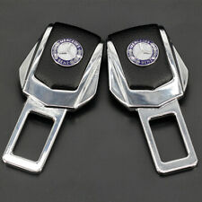 2x Car Auto Interior Accessories Safety Seat Belt Plug Clip For Mercedes-Benz
