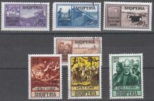 ALBANIEN, 1970 Agrarreform 1435-38, Vlora-Kriege 1439-41 gestempelt, (22420)
