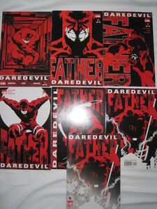 DAREDEVIL : FATHER, COMPLETE 6 ISSUE MARVEL 2004 SERIES + Director's Cut.QUESADA