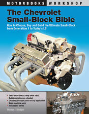 CHEV ROLET SMALL BLOCK BIBLE HOW TO BUILD GM ENGINE WORKSHOP REPAIR MANUAL BOOK