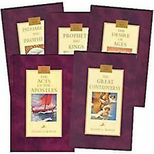 Conflict of the Ages, 5 Volume Set (The New Illustrated Set),  Ellen G. White
