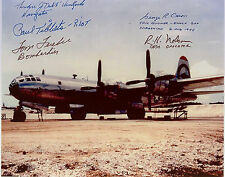 Rare Signed Paul Tibbets And Crew Of The Enola Gay