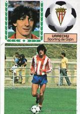Cromo Liga 83-84. Urrechu. Sporting de Gijon. Ediciones Este. Despegado