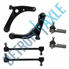 NEW Pair (2) Control Arms + (2) Outer Tie Rod End Links + (2) Sway Bar End Links