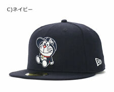 NEW ERA DORAEMON 9FIFTY SNAPBACK CAP FACE LINE Adult Size mens Navy free size