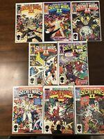 MARVEL SUPER HEROES SECRET WARS II 1,2,3,4,5,6,7,8 Missing #9.