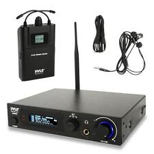 In-Ear Monitor & Receiver System, Stage Performance Selectable Audio Frequency
