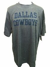 Dallas Cowboys Men's Big & Tall Coaches T-Shirt - Charcoal