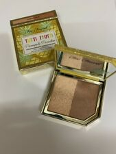 TOO FACED TUTTI FRUTTI PINEAPPLE PARADISE BRONZER/ HIGHLIGHTER  DUO BOXED