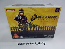 CONSOLE METAL GEAR SOLID PORTABLE OPS PREMIUM PACK - SONY PSP - NEW - VERY RARE