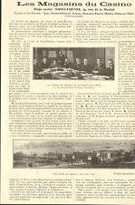42 SAINT-ETIENNE LES MAGASINS DU CASINO PUBLI-REPORTAGES 1927