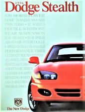 1996 Dodge Stealth Stealth R/T Stealth R/T Turbo Dealer Sales Brochure - New