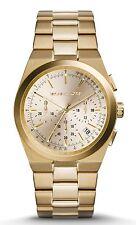 Michael Kors MK5926 New Women's Chronograph Dials Channing Gold-Tone Watch