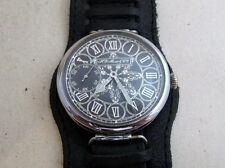 Henry Moser & Cie Antique Swiss Men's mechanical wristwatch SERVICED & RUNS