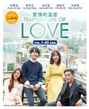 DVD Korean Drama Temperature Of Love Vol.1-40END ENG SUB All Region FREE SHIP