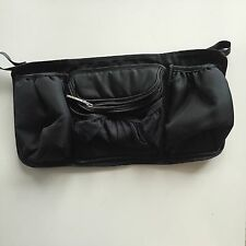 DRINK CADDY STORAGE BAG Accessory Steelcraft Strider Plus Compact Stroller BLACK