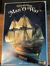 Revell Elizabethan Man 'O War H-389 Model Kit - Unassembled