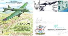 PP20 HENDON RAF cover signed Mayor & Chief Executive Barnet