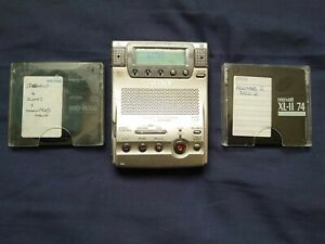 RARE SONY MZ-B100 MINIDISC BUSINESS RECORDER PLAYER.GOOD USED CONDITION. .