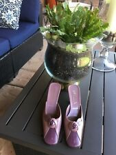 "Prada Women Mule Two Tone Lavender. Size 35/5 PW 2 1/2"" Heel"