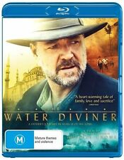 THE WATER DIVINER New Blu-Ray RUSSELL CROWE ***