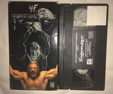 WWF - Backlash 2001 (VHS, 2001) WWE WCW NWO HHH TRIPLE H RARE