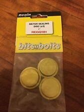 "3 x New Meter Sealing Disc 1"",Freepost, UK Seller"