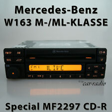 Original Mercedes Special MF2297 Cd-R W163 Radio M ML Class CD Car Radio 1-DIN
