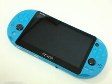 SALE USED PlayStation Vita Wi-Fi Console System PCH-2000 Aqua Blue PS Vita