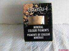 New Sealed Gosh MIneral Colour Pigments Powder Pot Gold 02 Eye Shadow Body Face