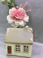 More details for retro  ceramic village traditional  house money box piggy bank pottery  295105