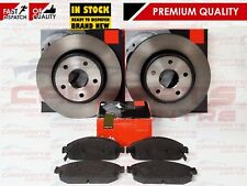 FOR JEEP GRAND CHEROKEE COMMANDER 05-10 CRD FRONT BRAKE DISC DISCS PADS SET
