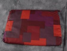 "Marc By Marc Jacobs Corvette Red Multi-Color 13"" Zippered Laptop Case Sleeve ANB"