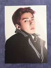 EXO SEHUN DON'T MESS UP MY TEMPO POSTCARD DOMESTIC