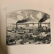 Photo of sketch of Antelope SF Maritime Ship Bay Area on Kodak Photo Paper