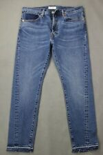 "LEVI STRAUSS Blue Denim ALTERED LEVI'S 511 JEANS Size Waist 34"" - Leg 28""  LEVIS"