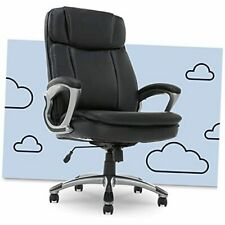Big Amp Tall Executive Office Chair High Back All Day Comfort Ergonomic Black