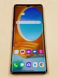 LG Velvet 5G- G900TM- Black- 128GB -T-Mobile - Unlocked - Call Not Going - 145OC