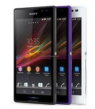 New Unlocked Sony Xperia C S39h C2305 Dual SIM 4GB GPS GSM WIFI Smartphone Black