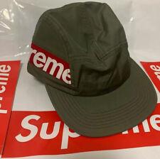 SUPREME SIDE PANEL CAMP CAP HAT FW18 BOX LOGO BOGO OLIVE 100% Authentic