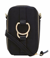 ACCESSORIZE LADIES CAMERA BAG,DAWSON CAMERA BAG,BN RRP £20,BLACK CROSS BODY BAG