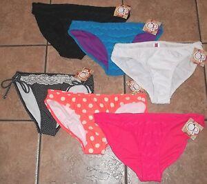 Juniors OP~BIKINI BOTTOMS~NWT Small Medium Large XL~Swim Bathing Suit~Choice