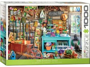 Eurographics 1000 Piece Jigsaw Puzzle - The Potting Shed