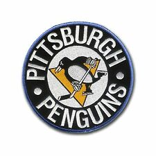 "5"" Embroidered Penguin Patch - Wax Backing - NHL -Pittsburgh Penguins Stanley"