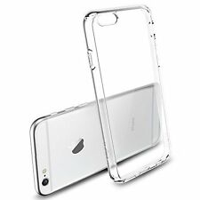 "COVER TRASPARENTE ULTRASLIM TPU FLESSIBILE PER IPHONE 6 PLUS 5.5"" + PELLICOLA"