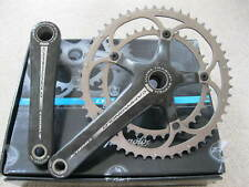 CAMPAGNOLO CARBON CHORUS ULTRA TORQUE CHAINSET 39/53 USED IN BOX - EXCELLENT