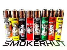 Clipper Lighter Set - Bears Pop Culture - Extremely Rare Collection - x8 pcs