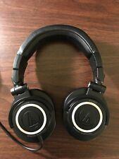 Audio-Technica ATH-M50 Over-ear Monitor Headphones - Black